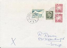 Greenland Cover Sent To Sweden Faeringehavn 16-5-1977 - Greenland