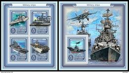 SOLOMON Isl. 2017 - Military Ships. M/S + S/S - Salomon (Iles 1978-...)