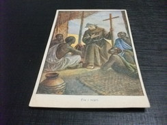 ILLUSTRATORE BARBERIZ ROMA TRA I NEGRI MISSIONARIO FRANCESCANO - Missioni