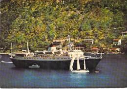 "PAQUEBOT : "" STELLA OCEANIS "" Greece SUN LINE - CPA CPSM PF - Cruise Ship Kreuzfahrtschiff Cruiseschip Pakkeboot - Steamers"