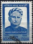 India 1968 - The Writer Bankim Chandra Chatterjee ( Mi 468 - YT 267 ) - Inde