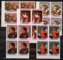 X13 - Yemen Kingdom 1969 Mi. 854B-858B MNH IMPERF Cplte Set 5v Blks/4 - Famous Men Of History, Napoleon Cv 38$ - Yemen