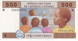East African States - Afrique Centrale Centrafrique 2002 Billet 500 Francs Pick 306 Neuf 1er Choix UNC - Central African Republic