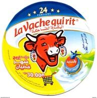 """ETIQUETTE FROMAGE LABEL CHEESE """" La Vache Qui Rit """" 24 - Ramadan 2017 Etiketten - N° 76031558 Labels Portions - Cheese"""