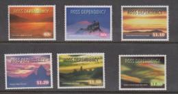 Ross Dependency 1999 Antarctic Night Sky Set 6 MNH - Ross Dependency (New Zealand)