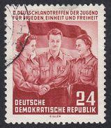 GERMANIA DDR - 1954 - Yvert 167 Obliterato, Bruno Carminio, 24 P - [6] Repubblica Democratica