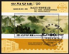 KOREA Nord 1990 - Briefmarkenausstellung Riccione - Block 257 - Korea (Nord-)