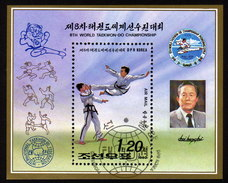 KOREA Nord 1992 - Teakwondo Weltmeisterschaft In Pjongjang - Block 276 - Korea (Nord-)