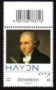 ÖSTERREICH 2009 ** Josef HAYDN - Komponist, Composer - MNH - Musik