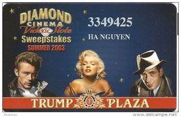 Trump Plaza Casino Atlantic City NJ Slot Card - Casino Cards