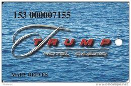 Trump Casino Buffington Harbor IN - Slot Card - Casino Cards