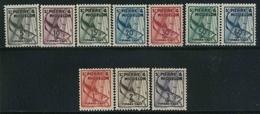 1938 St. Pierre & Miquelon, Segnatasse, Serie Completa Nuova (**) - St.Pierre & Miquelon