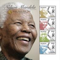 Uganda-Famous People-President Nelson Mandela In Memoriam - Celebrità