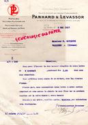 75- PARIS-FACTURE PANHARD LEVASSEUR - PERIN- MOTEURS VOITURES AUTOMOBILES-19 AV. D' IVRY- 1917- M. E. BOULEGUE VALLIERES - Cars
