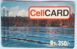 Sri Lanka Phonecard Cellcard Rs 350 Coast (GST Included) - Sri Lanka (Ceylon)