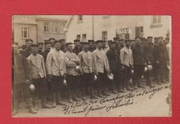 Postkarte -  Deutsche Soldanten  --  Stempel Saarbruken --3/7/1915 - Saarbruecken