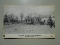 SEINE SAINT DENIS EXPLOSION DE SAINT DENIS 4 MARS 1916 DANS LE VOISINAGE - Saint Denis