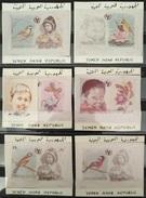 TS29 - Yemen REPUBLIC 1980 Intnl Year Of Child Issue DESIGNER PROOFS (SG594-599) - Yemen