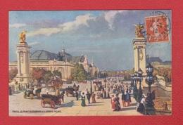 Paris  --  Le Pont Alexandre - Puentes