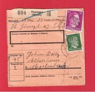 Colis Postal  --  Départ Hayingen  -- - Alsazia-Lorena