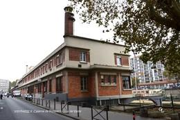 Paris X (75)- Caserne De Pompiers : Quai De Valmy (EDITION A TIRAGE LIMITE) - District 10