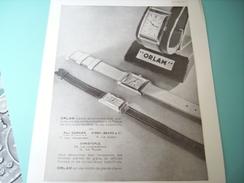 ANCIENNE PUBLICITE MONTRE ORLAM 1932 - Autres