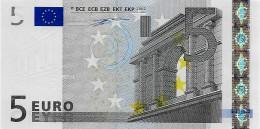 Billet 5 Euros 2002 Signature Wim Duisenberg  - TRÈS RARE DANS CET ÉTAT - 5 Euro