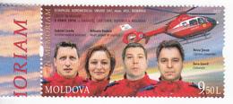 2017 , Moldavie , In Memory Of The SMURD Aeromedical Crew , Helicopter , Romanian Crew , Roumanie , Health , Medicine - Medizin