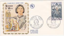 1968 VAUCOULEURS  / FDC / JEANNE D'ARC / Timbre 0.60 - 1960-1969