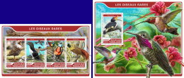 TOGO 2017 ** Rare Birds Seltene Vögel Oiseaux Rares M/S+S/S - IMPERFORATED - DH1722 - Birds