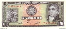 PÉROU 100 SOLES DE ORO 1975 P-108 NEUF  [PE108] - Peru