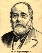 Dr. V. Schlumberger/ Druck, Entnommen Aus Zeitschrift/ 1908 - Livres, BD, Revues