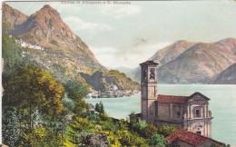 Lago Di Lugano - Chiesa Di Albogasio E S. Mamette - Como