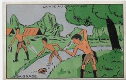 CPSM Scoutisme Scout éclaireur Non Circulé Publicité Publicitaire La Samaritaine - Padvinderij
