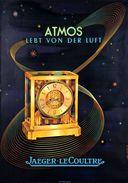 Watches Atmos Jaeger-Le Coultre 1962 - Postcard - Poster Reproduction - Pubblicitari