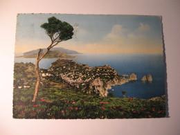 CARTOLINA -   CAPRI VEDUTA GENERALE DAL MONTE SOLARO   - B 2277 - Napoli