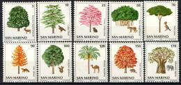 SAN MARINO - 1979 - SALVAGUARDIA DELL'AMBIENTE E DEGLI ANIMALI - NUOVI MNH - Neufs