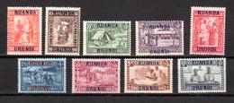 1930    Caritas, « Goutte De Lait », 81 / 99**, Cote 175 €, - Ruanda-Urundi