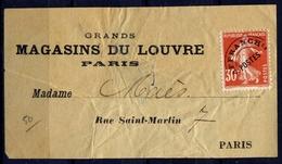 France Préo N° 58 S/étiquette Du Louvre - Cote 70 Euros - TB Qualité - 1893-1947