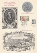 300éme Anniversaire De La Bataille De Turckheim Et De La Mort DeTurenne 27:/JUILLET/1975. TURCKHEIM No 046 - Autres