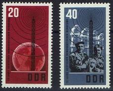 DDR 1965 - MiNr 1111-1112 -Deutscher Demokratischer Rundfunk - Telekom