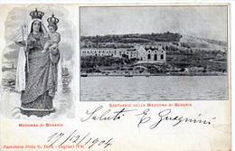 CAGLIARI - SANTUARIO DELLA MADONNA DI BONARIA - VIAGGIATA - Cagliari