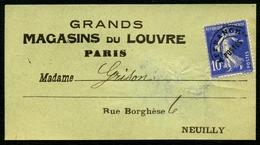 France Préo N° 52 S/ Bande - Cote 20 Euros - TTB - 1893-1947