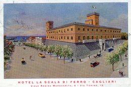 """CAGLIARI - HOTEL """"LA SCALA DI FERRO"""" - VIAGGIATA - Cagliari"""