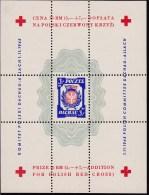 Dachau 1945 Sheet Of One No Watermark Perf - Vignettes De La Libération