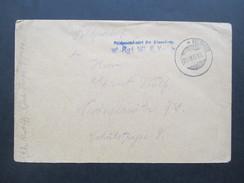 Feldpostbrief 29.Mai 1918 Aptierter Stempel?! * Feldpost. Rgt. 181 8. Komp. Interessanter Stempel?! - Germany