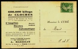 France Préo N° 51 S/Carte Postale - Cote 20 Euros - TTB - 1893-1947