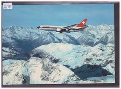 FORMAT 10x15cm - AVIATION SUISSE - AVION DC 10 DE LA SWISSAIR - TB - Switzerland