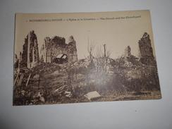 D . 62 - RICHEBOURG (pas-de-calais) L'église Et Le Cimetière  Guerre 1914 - 18 - France