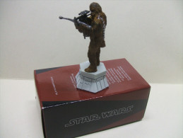 CHEWBACCA Figurine En Plomb STAR WARS Pièce De Jeu D´échecs ALTAYA : Fou Blanc - Premiera Aparición (1977 – 1985)